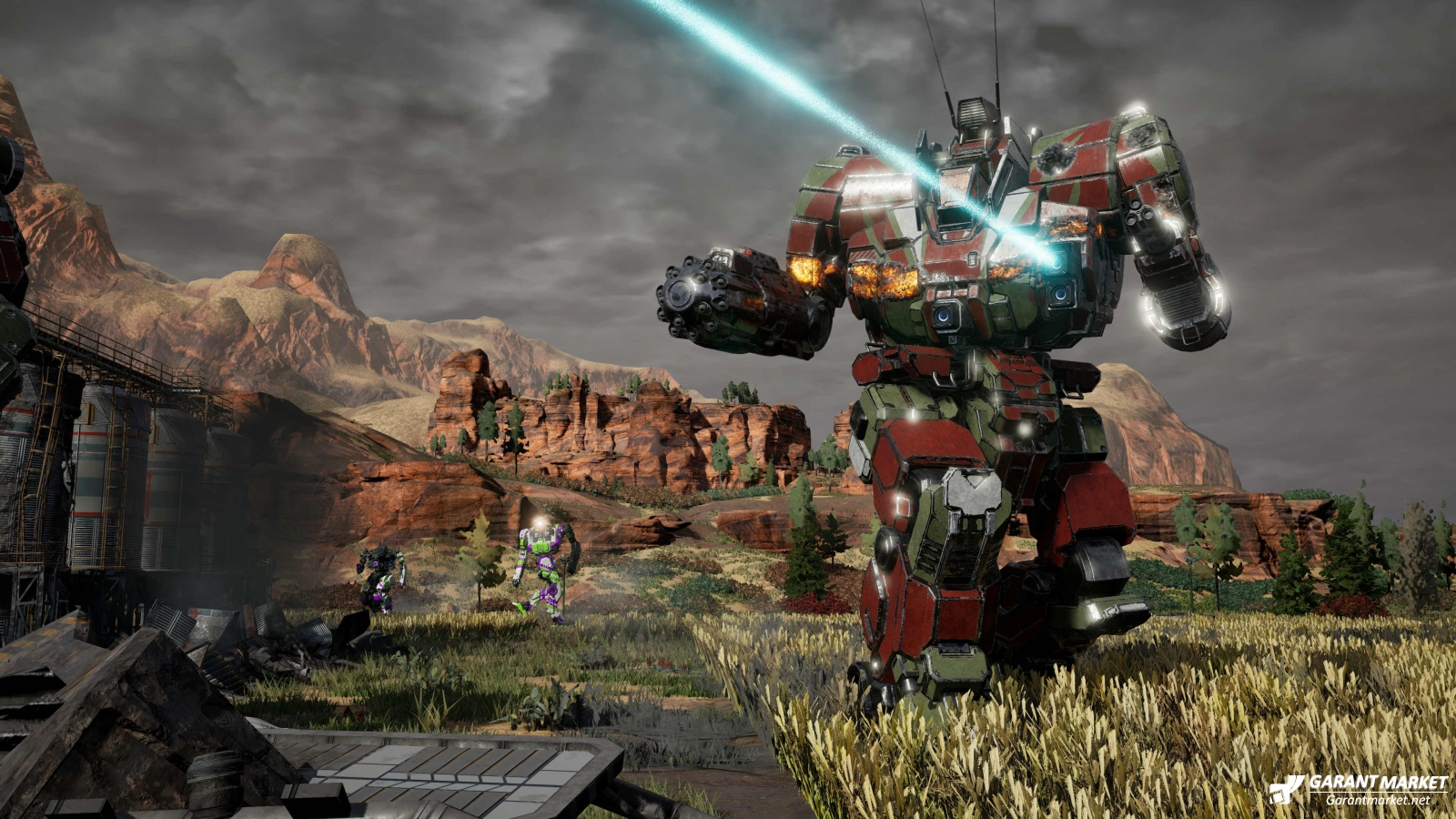 MechWarrior 5: Mercenaries доступна в Xbox Game Pass на ПК.