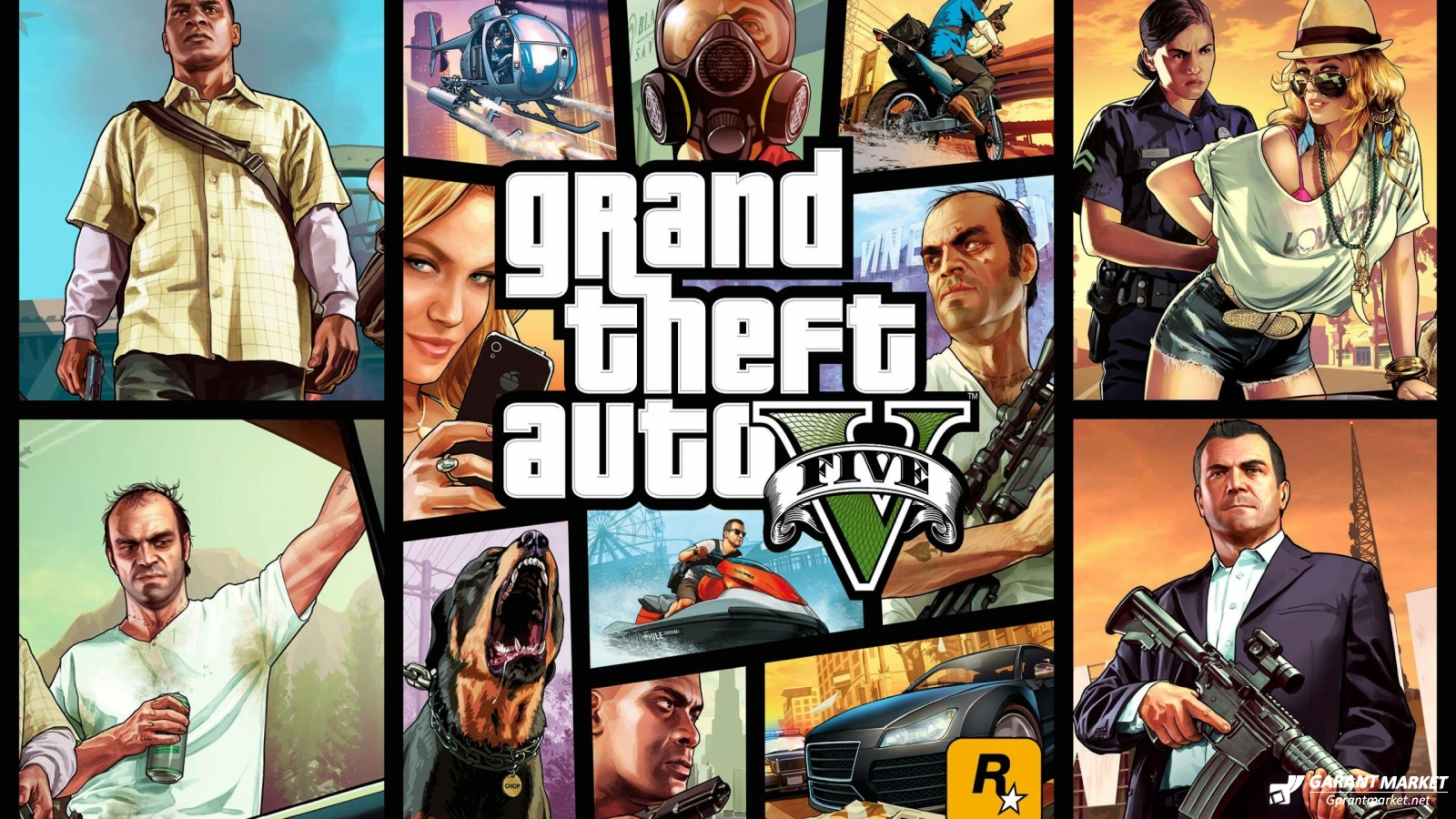 Бесплатно Grand Theft Auto V: Premium Edition (Epic Games Store).